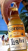 Corona Light now outsells Amstel Light, depriving Amstel of its previous claim to category leadership.