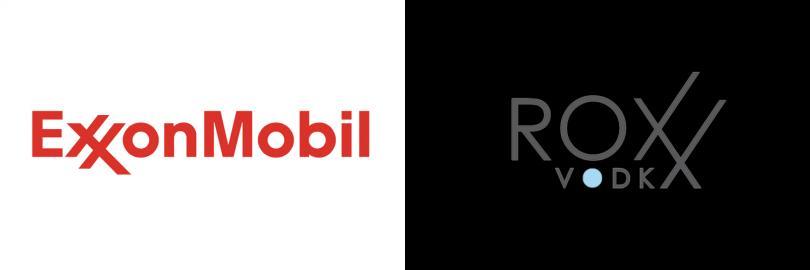 Exxon Mobil is suing Nielsen Spirits, makers of Roxx Vodka, for trademark infringement.