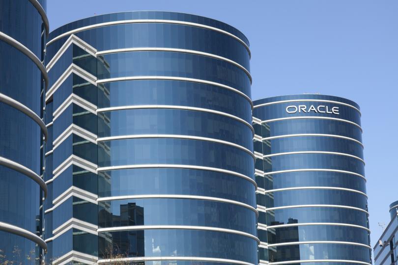 Oracle's Redwood Shores, CA headquarters.
