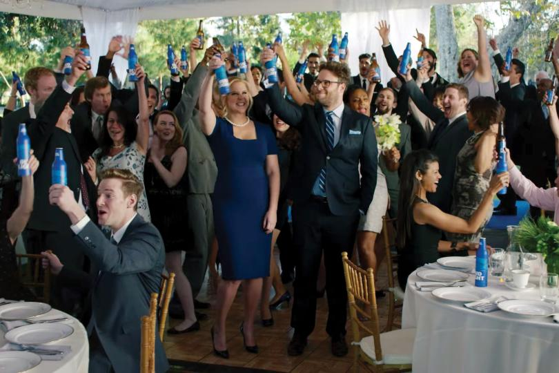 A scene from a 'Bud Light Party' ad.