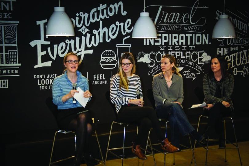 BBDO's Kathryn Brown; Rebecca Nadilo; Juliana Cobb; Kirsten Flanik