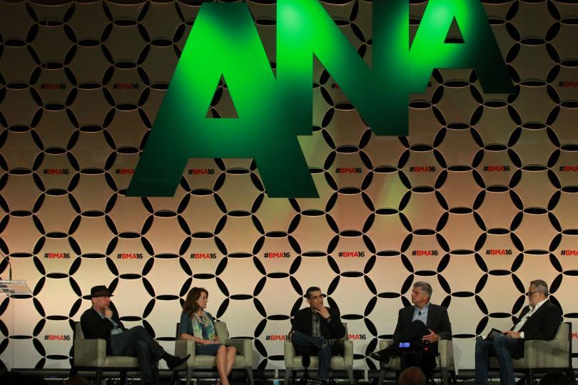 CMO/CEO panel: (from left) Peter Friedman, Christine Gilroy, Ash ElDifrawi, Neal Campbell, Jeffrey Hayzlett