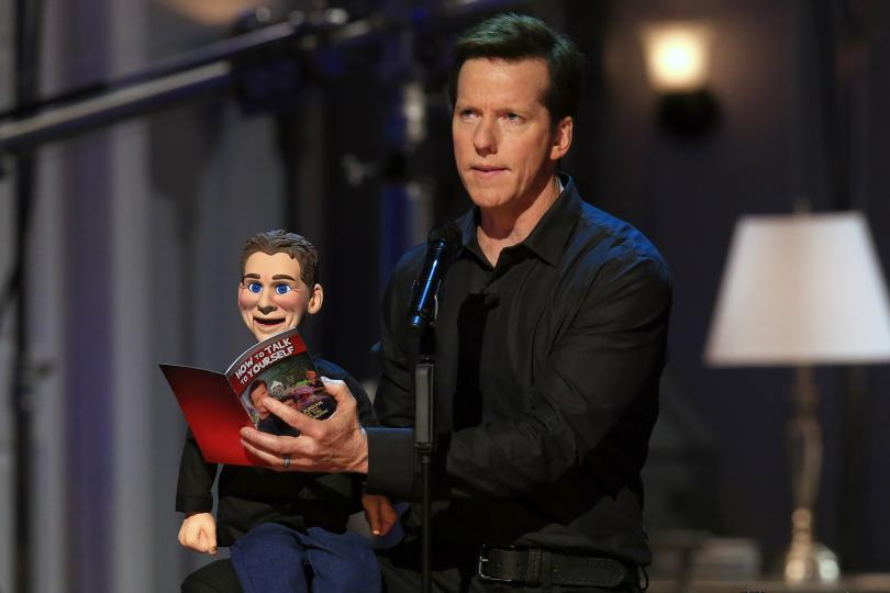 Jeff Dunham in his 'Jeff Dunham: Unhinged in Hollywood' special.