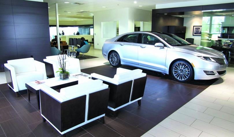 Lincoln's showroom scent evokes 'luxury and warmth.'