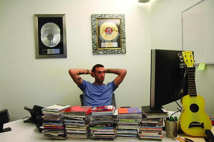 Deutsch music supervisor Dave Rocco.