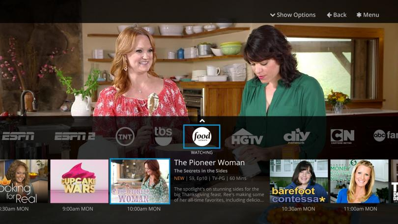 Dish's new Sling TV service lets subscribers watch networks including ESPN, TNT and CNN.