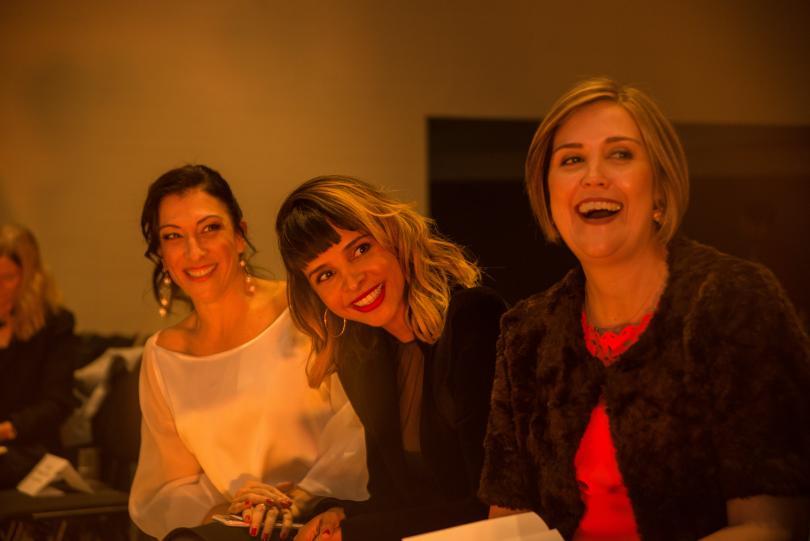 Paola Aldaz, Carolina Alzate, Catalina Botero.