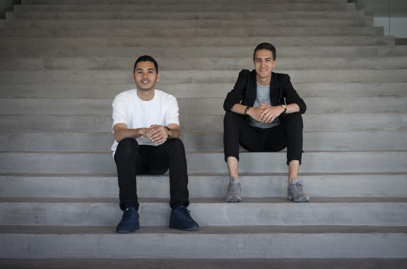 Daniel Sumarna, left, Bryan Wolf, Droga5
