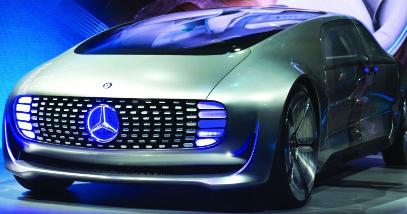 Some of the biggest showstoppers at CES weren't electronics; they were cars.