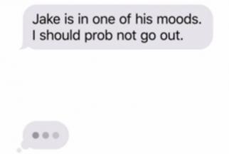 No More - Text Talk