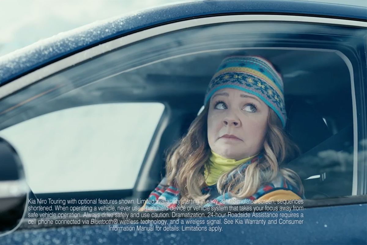 Melissa McCarthy Is Stuck on an Iceberg in Kia's Next Super Bowl Teaser