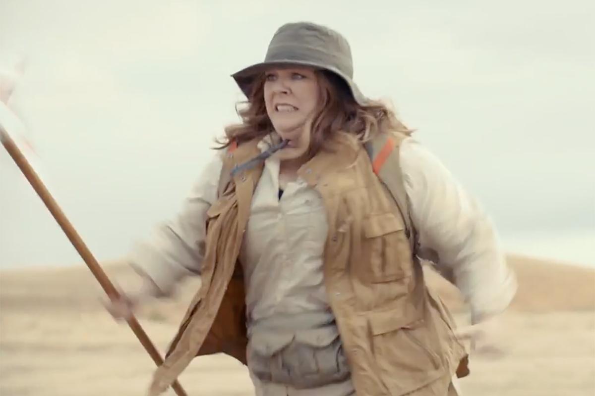 Melissa McCarthy Stars in Kia's Super Bowl Ad