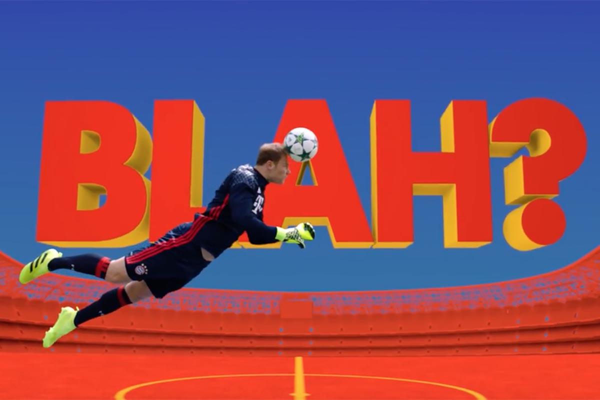 Adidas Football Blah Blah Blah