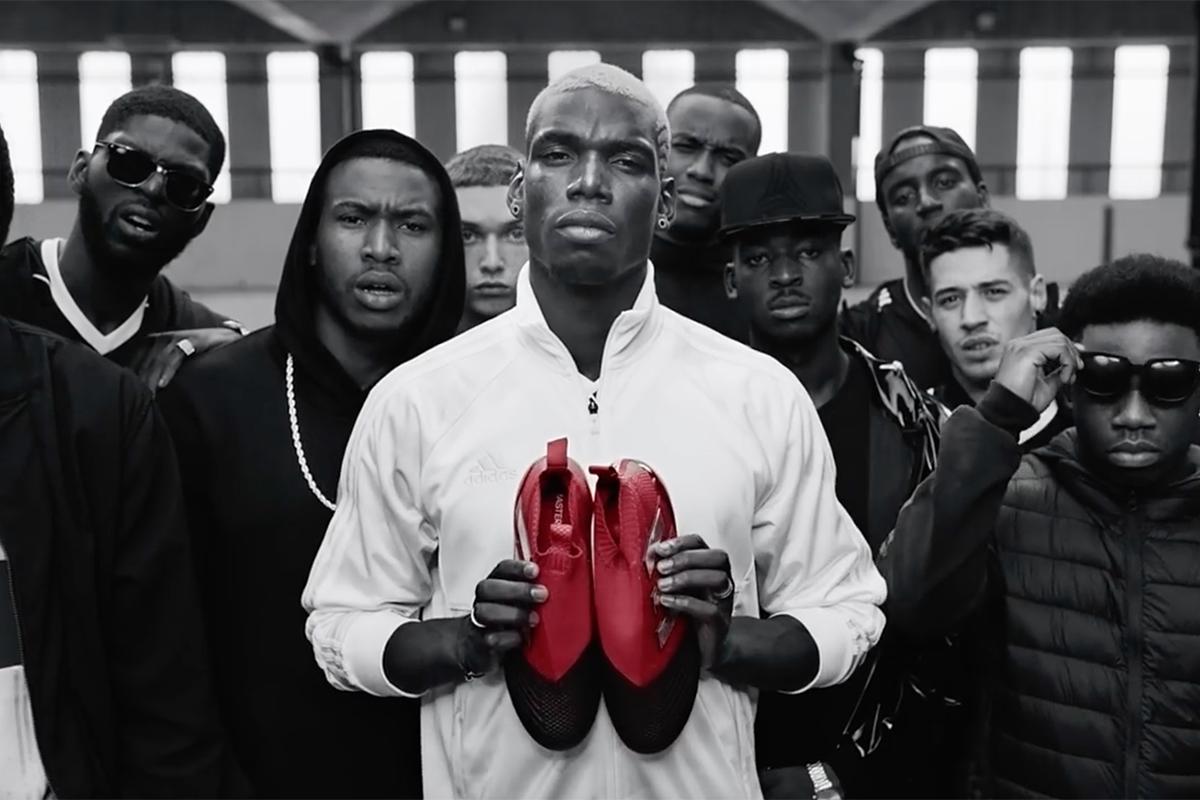Adidas Never Follow Feat. Paul Pogba