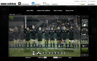 Adidas All Blacks Photosynth