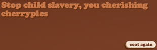 Anti-Slavery International Choco-Coat It