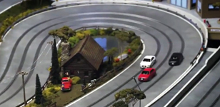 Audi Canada iPad Slot Car Race