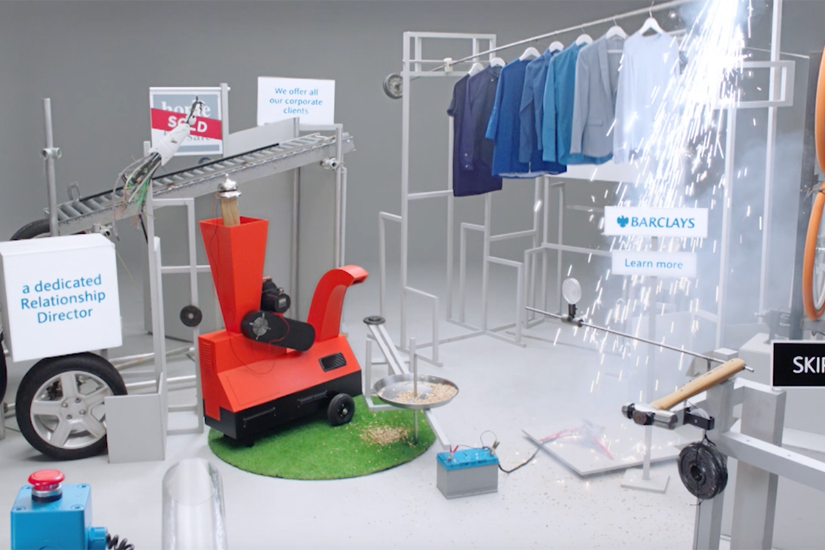 Barclays Self Skipping Pre Roll Ad Machine