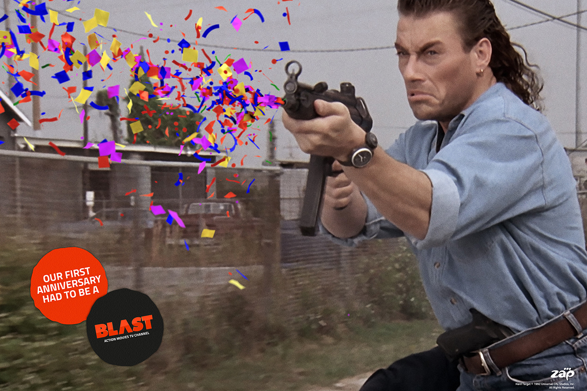 Blast Tv Channel Anniversary