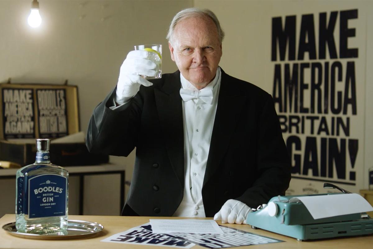 Boodles Gin Make America Britain Again