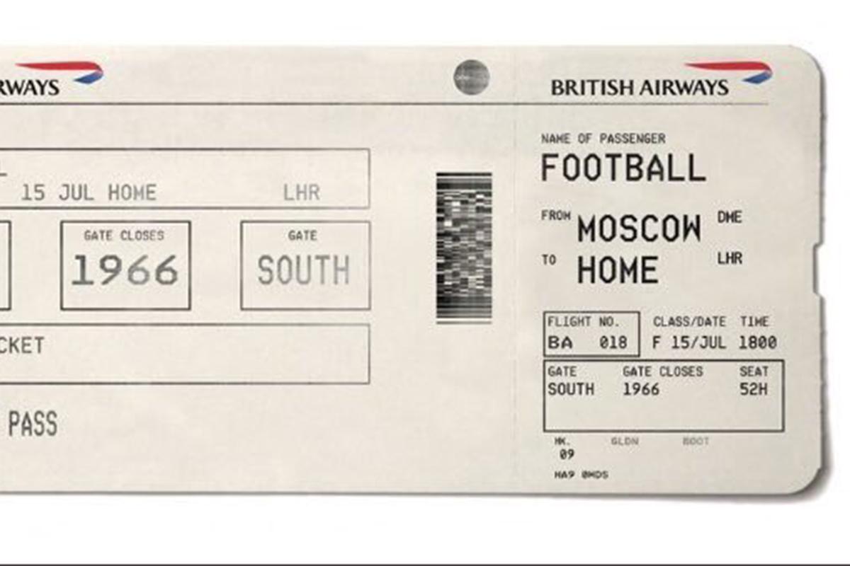 British Airways Football coming home