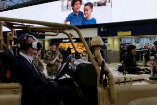British Army Reserve Oculus Rift Roadshow