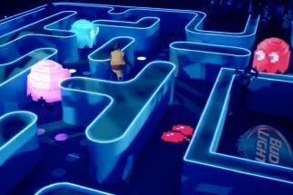Bud Light Super Bowl XLIX Commercial - Real Life PacMan