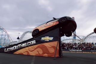 Chevy Stunt Anthem -- Super Bowl XLVI