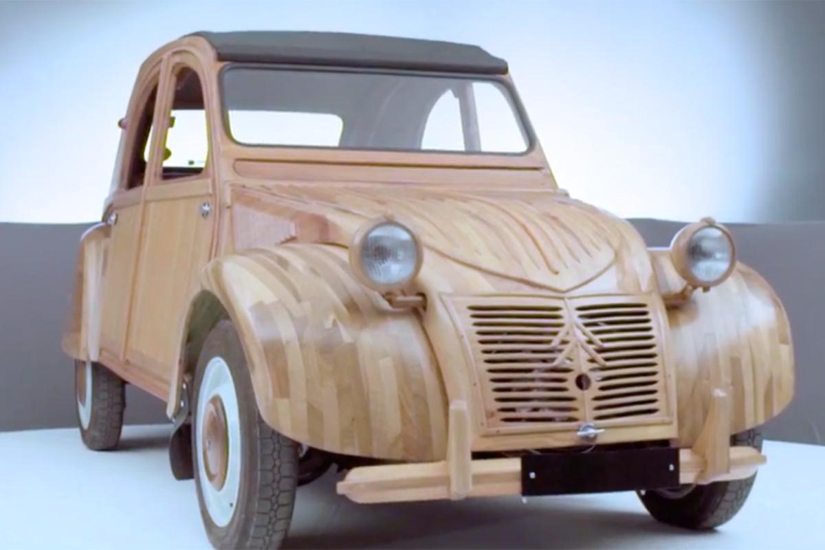 Citroën Wooden 2CV