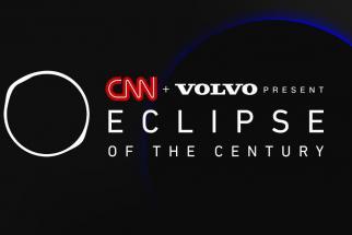 CNN, Volvo race the sun in historic cultural moment