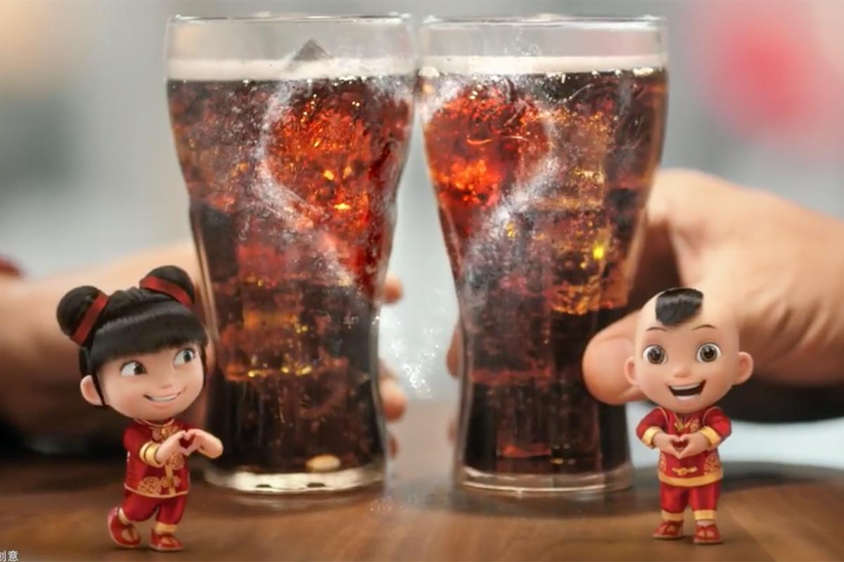Coca-Cola China Coca-Cola Clay Dolls
