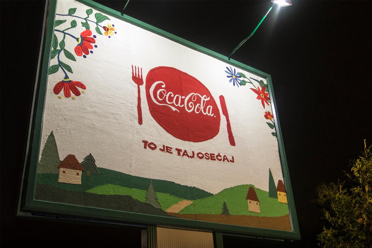 Coca-Cola Unforgettable Tastes of Serbia