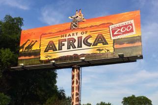 Columbus Zoo and Aquarium Heart of Africa Billboard