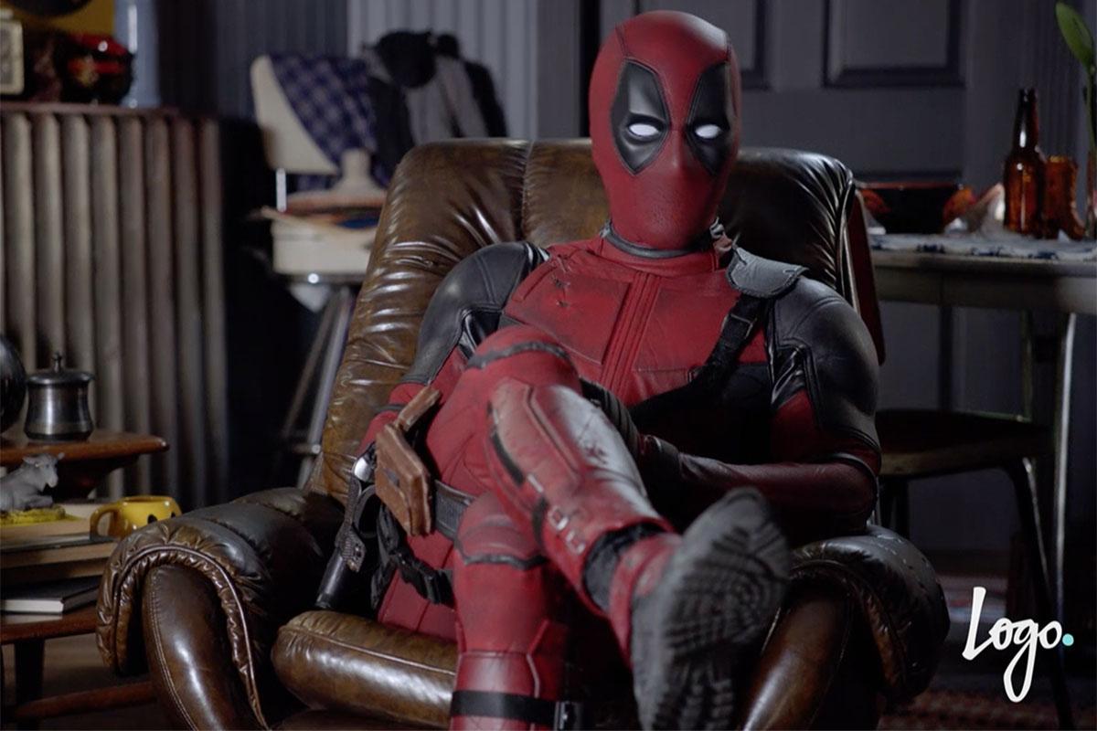 Deadpool Viacom Takeovers - Logo Stand Alone