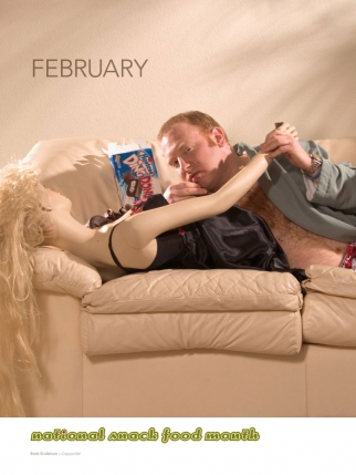 Self-Promotion The Men of DRGM II 2006 Calendar