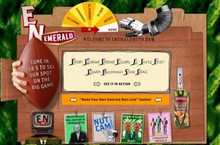 Emerald Nuts Website