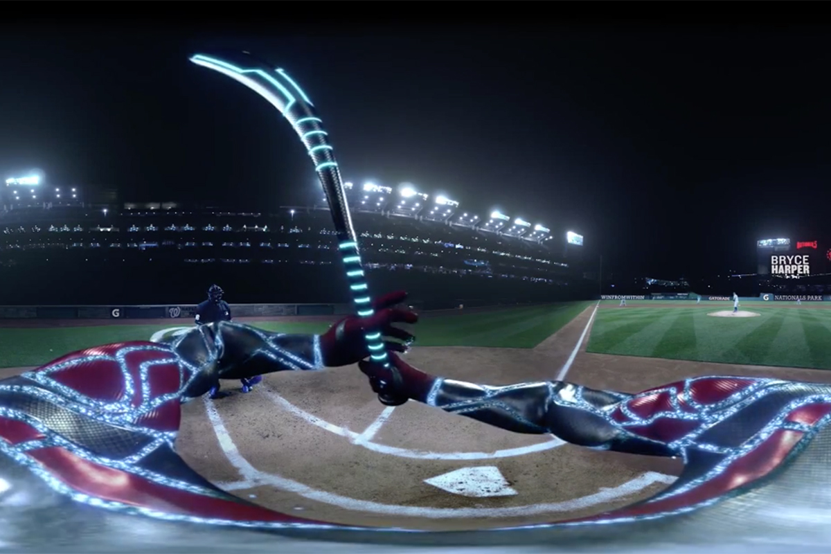 Gatorade Bryce Harper VR Experience