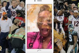 Gatorade Super Bowl Dunk Snapchat Lens