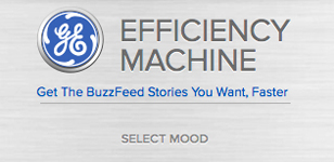 GE The Buzzfeed GE Efficiency Machine