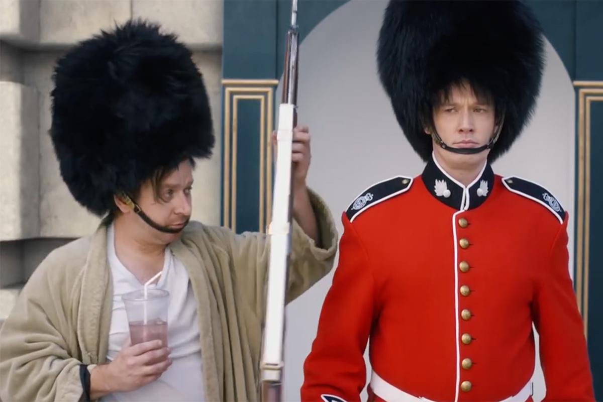 Geico Casual Friday at Buckingham Palace