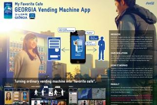Coca-Cola (Japan) My Favorite Cafe - GEORGIA Vending Machine App