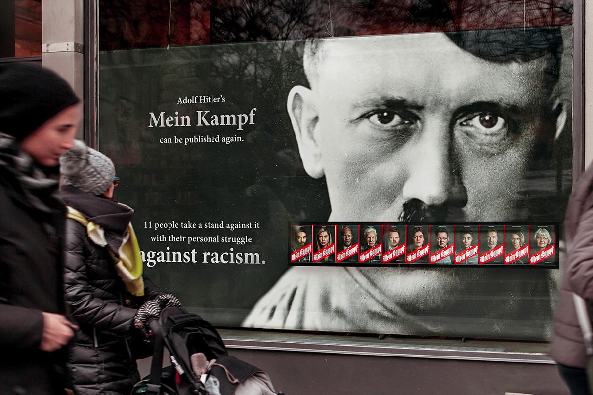 Gesicht Zeigen Mein Kampf - gegen Rechts