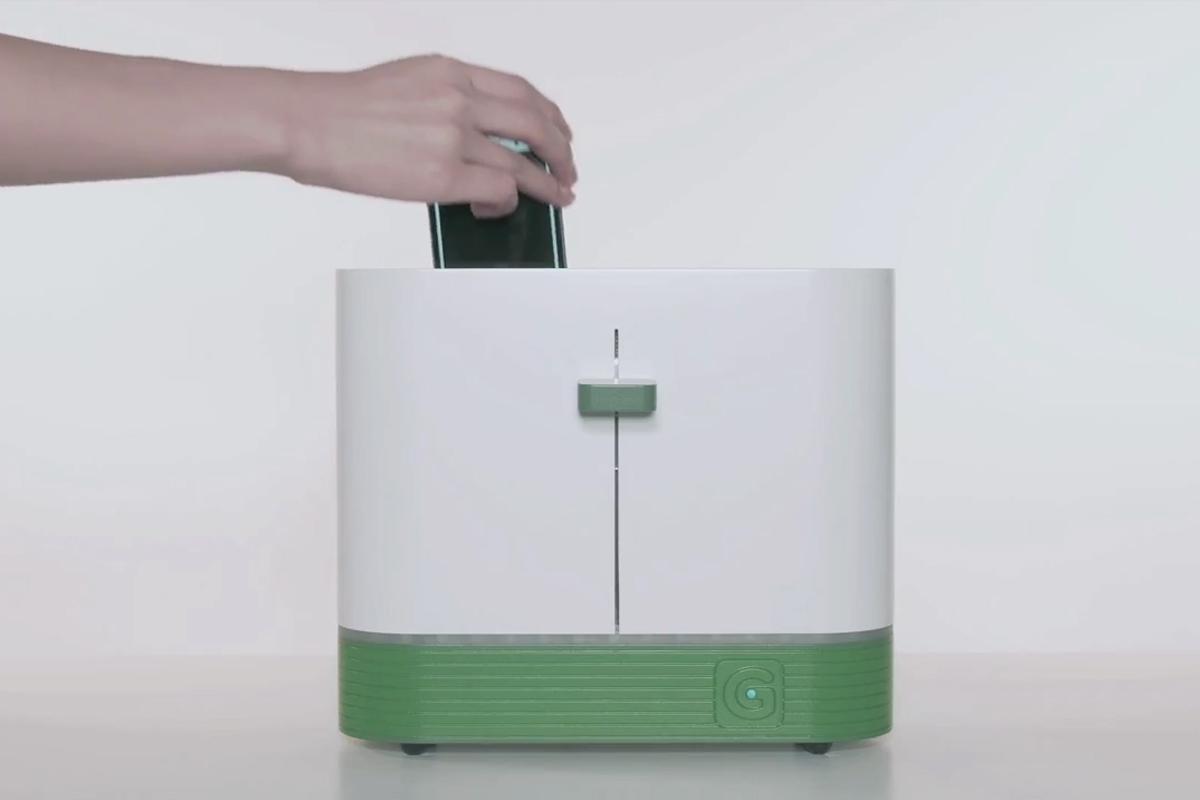 Gmarket Green Toaster