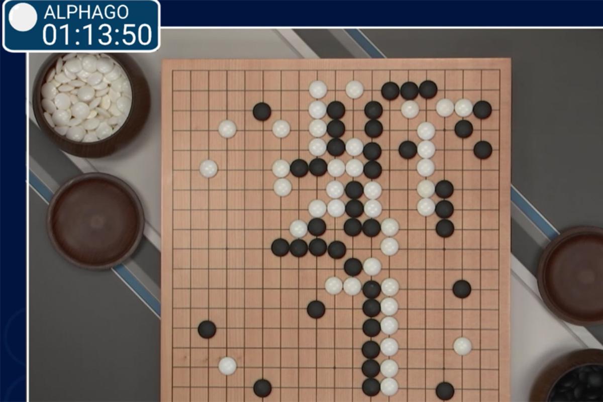 Google Deepmind Match 1 - Lee Sedol vs AlphaGo