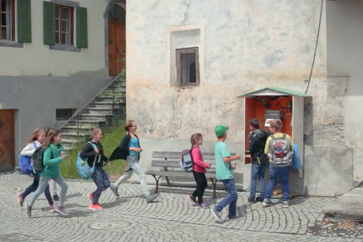 Graubunden Tourism The Village Phone