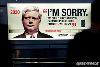 Greenpeace I'm Sorry - Harper