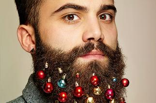 Grey London Beard Baubles