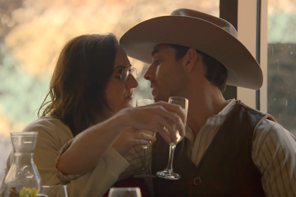 Harlequin Cowboy