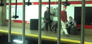 Harvard Pilgrim Health Care Boston Subway Installation