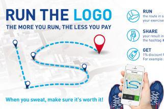 Intersport Run the Logo